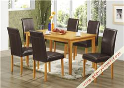 OAK MILAN PARSON DINING SET